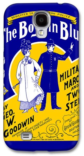 1901 The Boys In Blue, The Boston Police Galaxy S4 Case