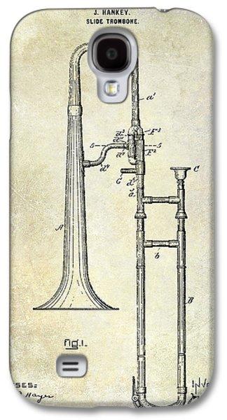 1902 Trombone Patent Galaxy S4 Case
