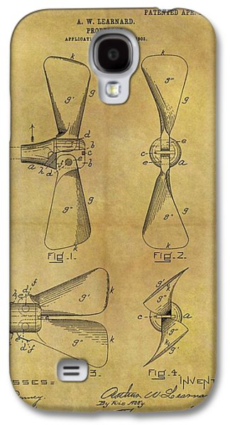 1903 Boat Propeller Patent Galaxy S4 Case