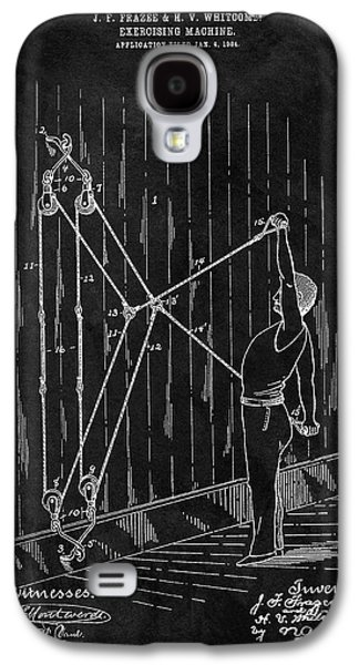 1904 Exercise Apparatus Patent Galaxy S4 Case
