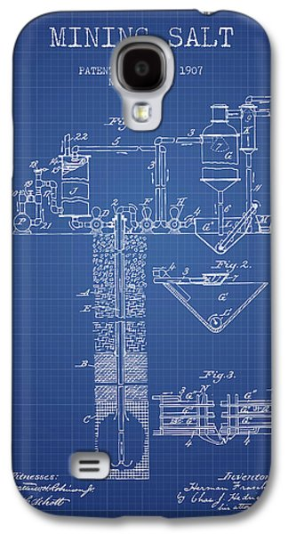1907 Mining Salt Patent En36_bp Galaxy S4 Case by Aged Pixel