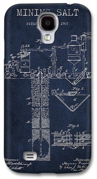 1907 Mining Salt Patent En36_nb Galaxy S4 Case by Aged Pixel