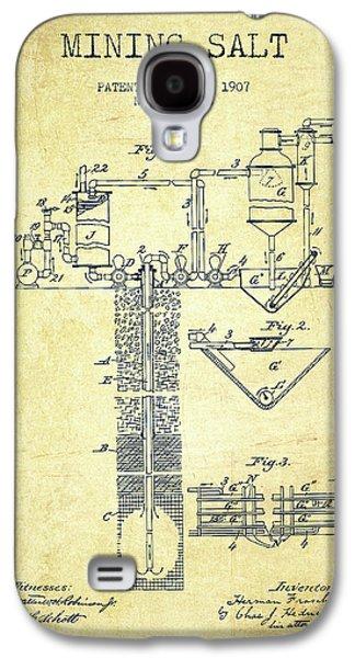 1907 Mining Salt Patent En36_vn Galaxy S4 Case by Aged Pixel