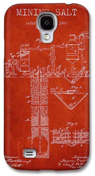 1907 Mining Salt Patent En36_vr Galaxy S4 Case by Aged Pixel