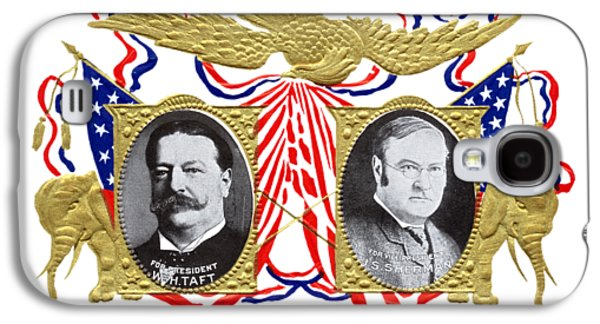 1909 Our Choice William Howard Taft Galaxy S4 Case by Historic Image