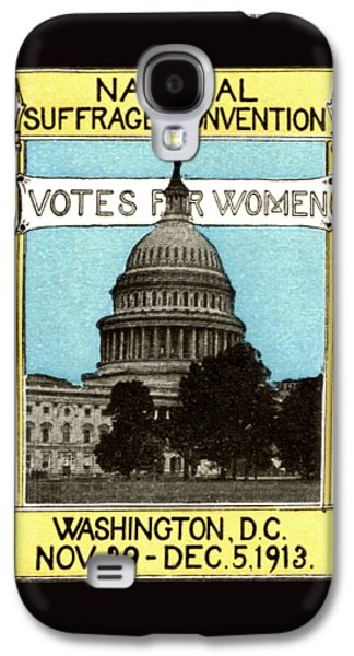 1913 Votes For Women Galaxy S4 Case by Historic Image