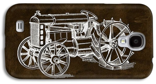 1919 Henry Ford Tractor Brown Galaxy S4 Case