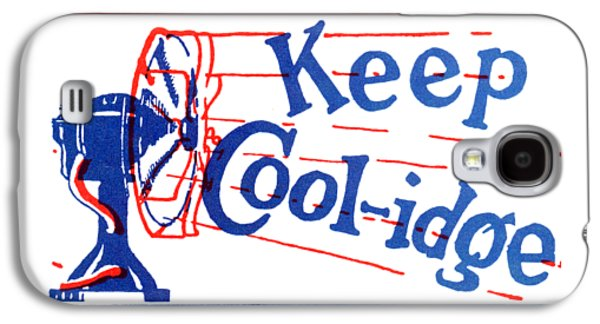 1924  Keep Coolidge Poster Galaxy S4 Case by Historic Image