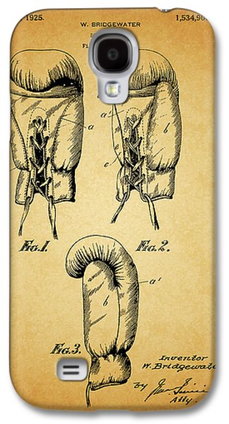 1925 Boxing Glove Patent Galaxy S4 Case