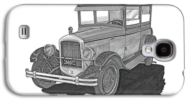 1925 Jewett 2 Door Touring Sedan Galaxy S4 Case by Jack Pumphrey