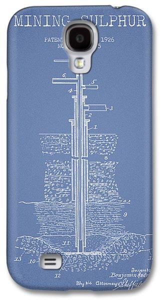 1926 Mining Sulphur Patent En37_lb Galaxy S4 Case by Aged Pixel