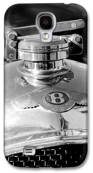 1927 Bentley Hood Ornament 2 Galaxy S4 Case by Jill Reger