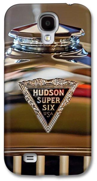 1929 Hudson Cabriolet Hood Ornament Galaxy S4 Case by Jill Reger