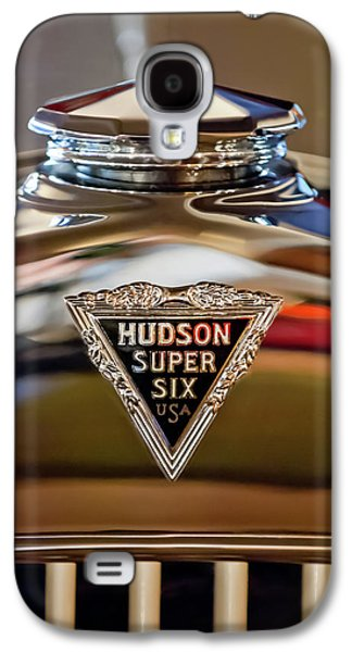 1929 Hudson Cabriolet Hood Ornament Galaxy S4 Case by Jill Reger