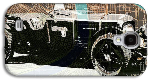 1930 Bentley 4.5 Litre Over New Orleans Old Map Galaxy S4 Case