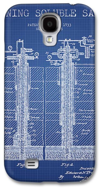 1933 Mining Soluble Salt Patent En40_bp Galaxy S4 Case by Aged Pixel