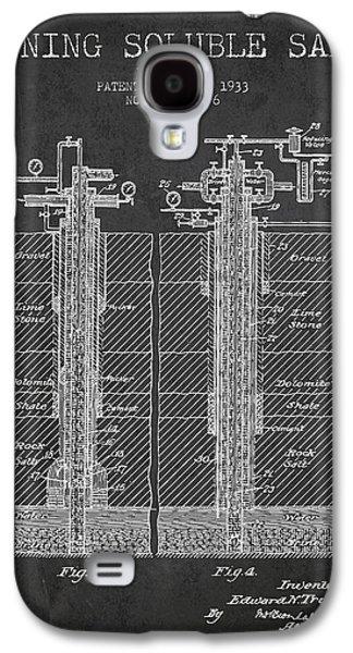 1933 Mining Soluble Salt Patent En40_cg Galaxy S4 Case by Aged Pixel