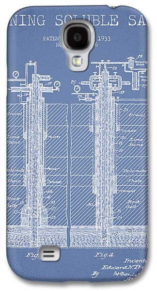 1933 Mining Soluble Salt Patent En40_lb Galaxy S4 Case by Aged Pixel