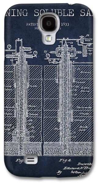 1933 Mining Soluble Salt Patent En40_nb Galaxy S4 Case by Aged Pixel
