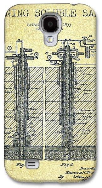 1933 Mining Soluble Salt Patent En40_vn Galaxy S4 Case