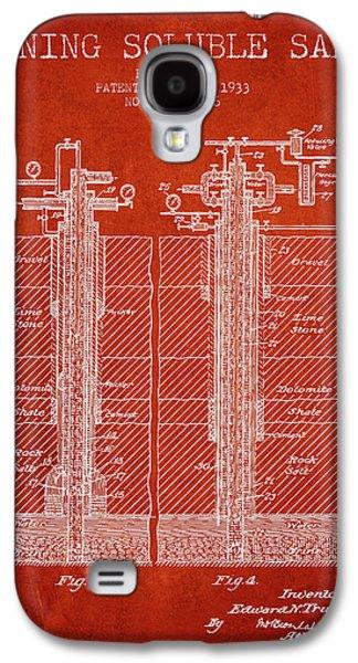 1933 Mining Soluble Salt Patent En40_vr Galaxy S4 Case by Aged Pixel