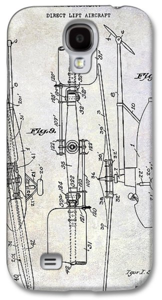 1935 Helicopter Patent  Galaxy S4 Case