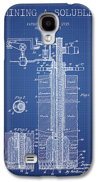 1935 Mining A Soluble Patent En39_bp Galaxy S4 Case by Aged Pixel