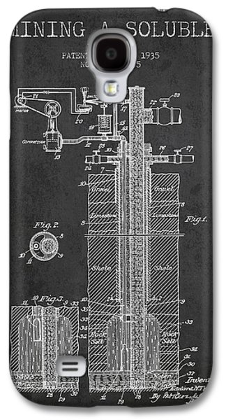1935 Mining A Soluble Patent En39_cg Galaxy S4 Case by Aged Pixel