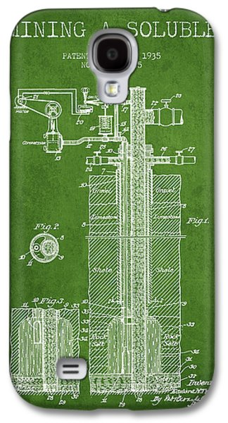 1935 Mining A Soluble Patent En39_pg Galaxy S4 Case by Aged Pixel