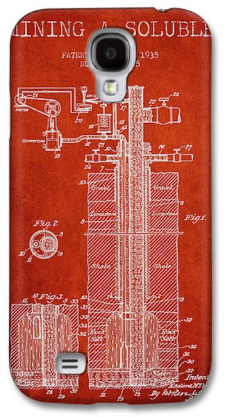 1935 Mining A Soluble Patent En39_vr Galaxy S4 Case by Aged Pixel