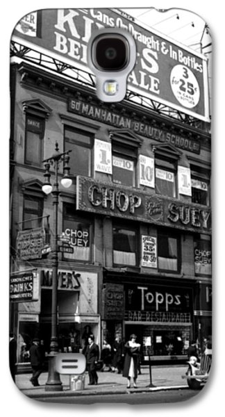 1935 Union Square Shops New York City Galaxy S4 Case by Historic Image
