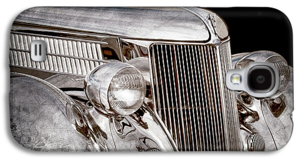 Stainless Steel Galaxy S4 Case - 1936 Ford - Stainless Steel Body -0371ac by Jill Reger