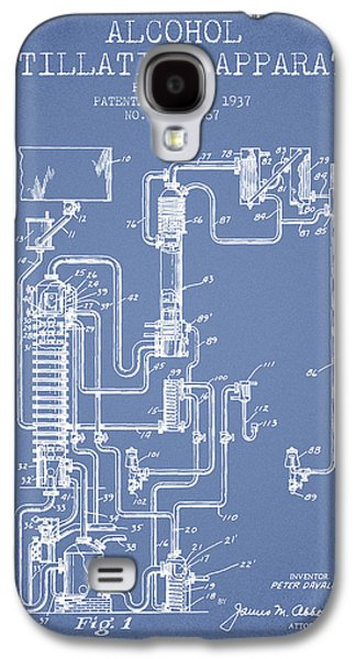 1937 Alcohol Distillation Apparatus Patent Fb79_lb Galaxy S4 Case by Aged Pixel