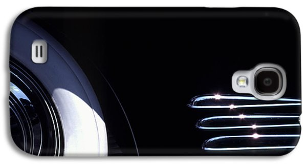 1938 Cadillac Limo With Chrome Strips Galaxy S4 Case by Anna Lisa Yoder