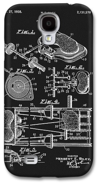 1938 Exercise Device Patent Galaxy S4 Case