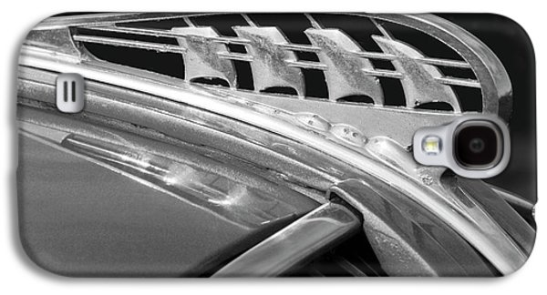 1938 Plymouth Hood Ornament 2 Galaxy S4 Case by Jill Reger