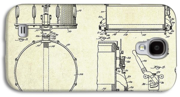 1939 Slingerland Snare Drum Patent Sheets Galaxy S4 Case