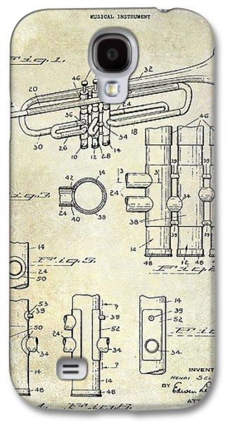 1939 Trumpet Patent Galaxy S4 Case