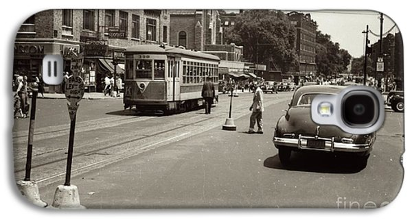 1940's Inwood Trolley Galaxy S4 Case by Cole Thompson