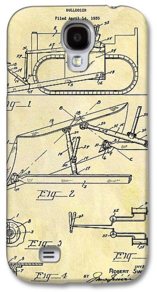 1941 Bulldozer Patent Galaxy S4 Case by Dan Sproul