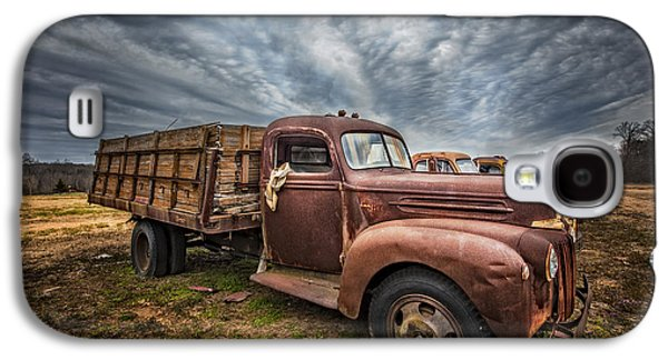 1942 Old Ford Truck Galaxy S4 Case by Debra and Dave Vanderlaan