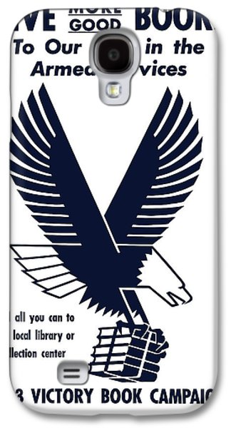 1943 Victory Book Campaign Galaxy S4 Case by War Is Hell Store