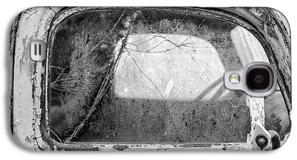 1946 Chevy Work Truck Passenger Window Galaxy S4 Case by Jon Woodhams