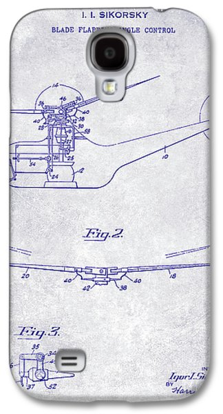 1947 Helicopter Patent Blueprint Galaxy S4 Case