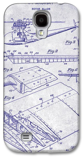 1949 Helicopter Patent Blueprint Galaxy S4 Case