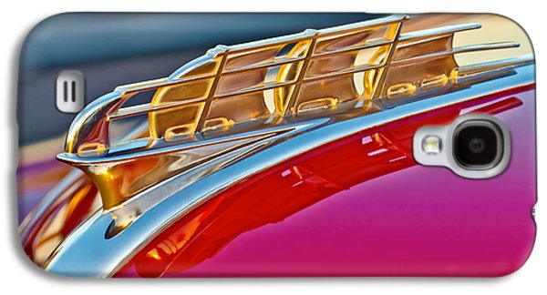 1949 Plymouth Hood Ornament Galaxy S4 Case by Jill Reger