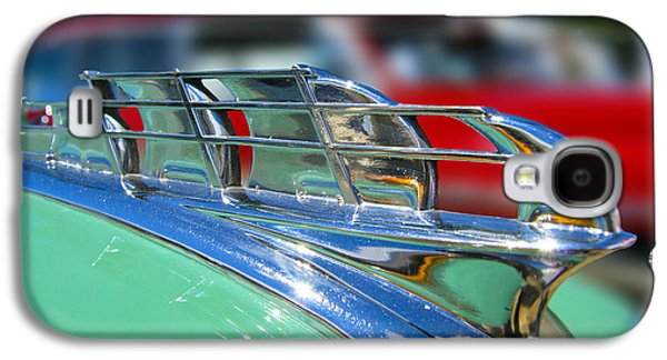 1949 Plymouth Hood Ornament Galaxy S4 Case by Larry Keahey
