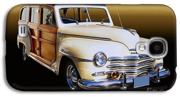 1949 Plymouth Woodie Wagon Galaxy S4 Case by Thomas Burtney
