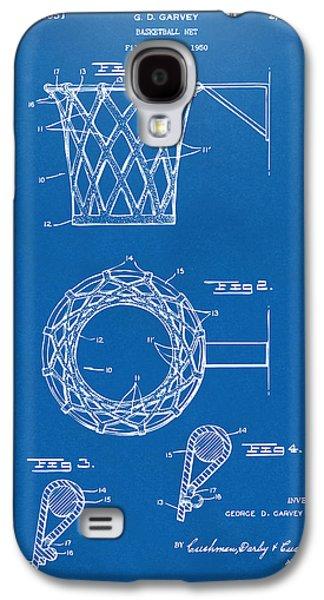 1951 Basketball Net Patent Artwork - Blueprint Galaxy S4 Case