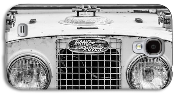 1952 Land Rover 80 Grille -0988bw Galaxy S4 Case by Jill Reger